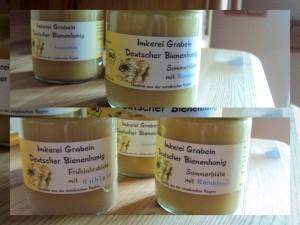 Honig für unsere Küche und unsere Gäste