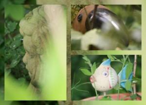 Elemente im Garten