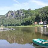 Blick zur Bastei.....